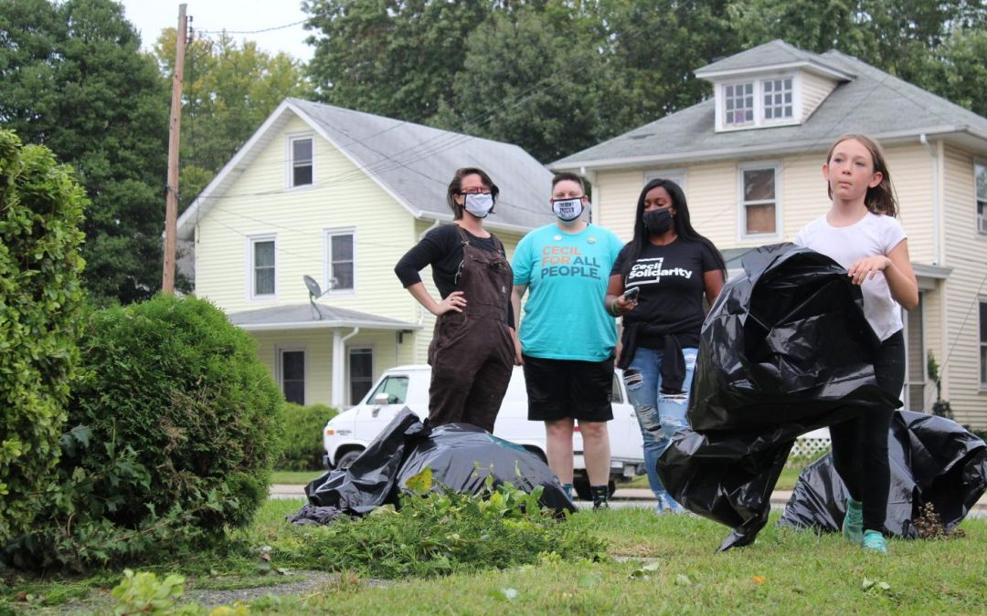 'It takes a village': Cecil Solidarity organizes a week of service